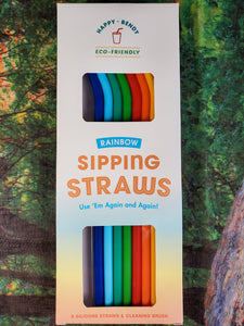 Rainbow Sipping Straws