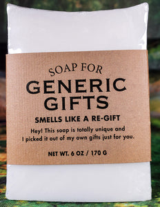 Soap For Generic Gifts