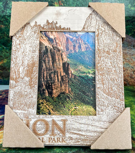 Souvenir Zion Picture Frame Zion- Great White