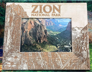 Souvenir Zion Picture Frame Zion- H Angels Land