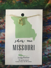 State Outline Necklace