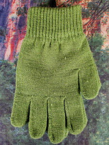Solid Stretch Knit Glove