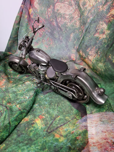 Motorcycle Metal Art - Large
