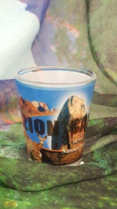 Zion Photo Collage Shot Glass