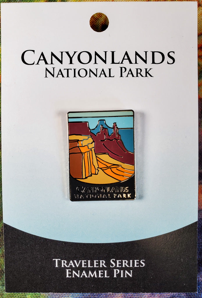 Canyonlands Souvenir Pin