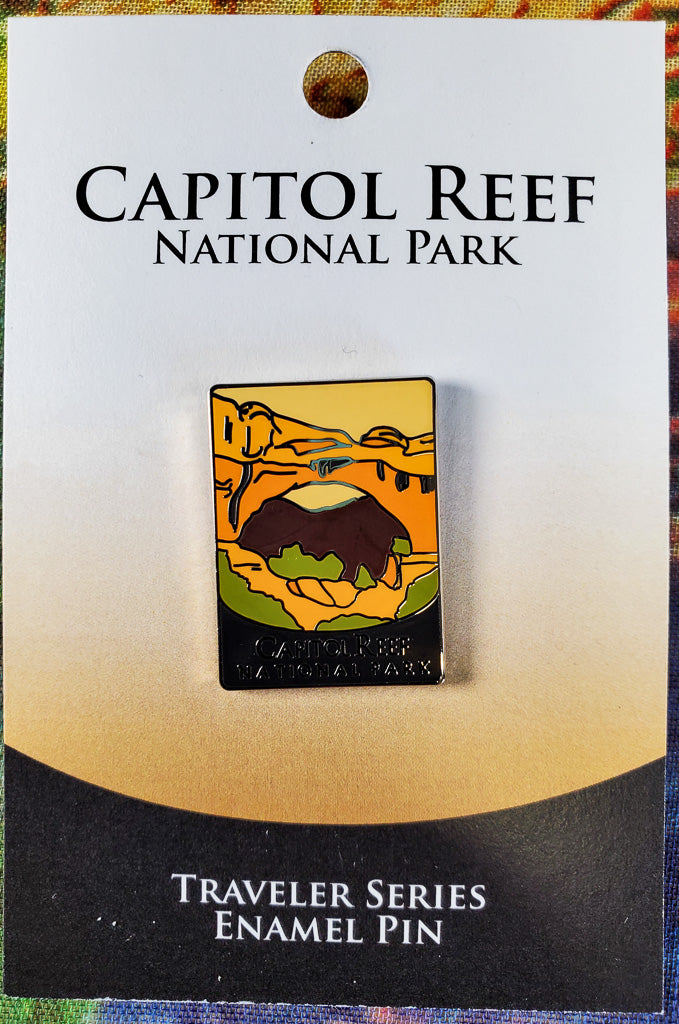 Capital Reef Souvenir Pin