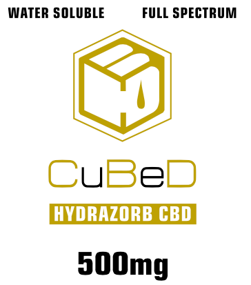 500mg CuBeD Hydrazorb Tincture