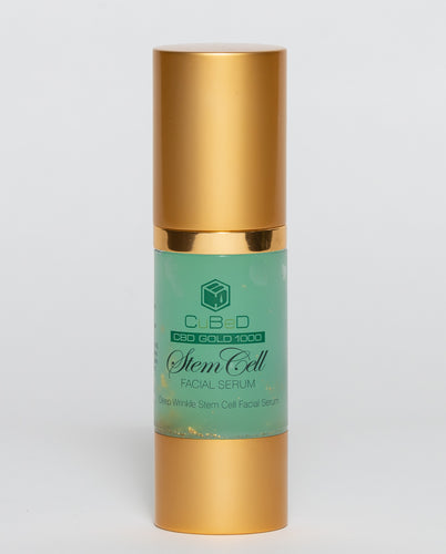 CuBeD Gold Stem Cell Facial Serum - 1000mg / 30ml