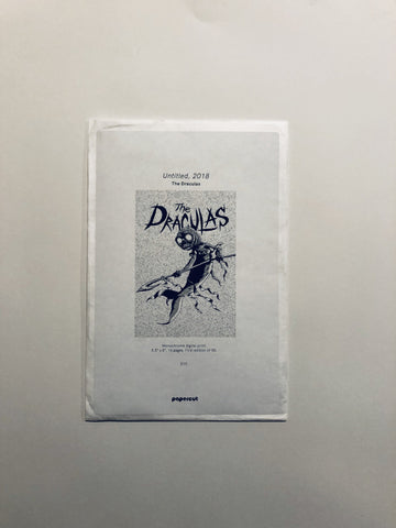 A Draculas Zine by Papercut Lounge 2018