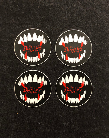 A Draculas Sticker