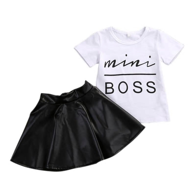 Mini Boss Baby Girl Outfit - PREORDER