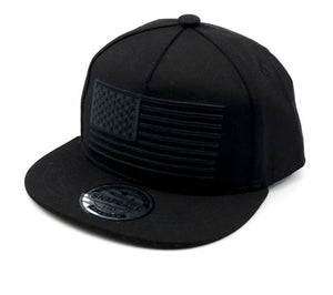 Boy Snapback Hats - Flag