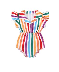 Trina Pop Baby Girl Romper - RTS