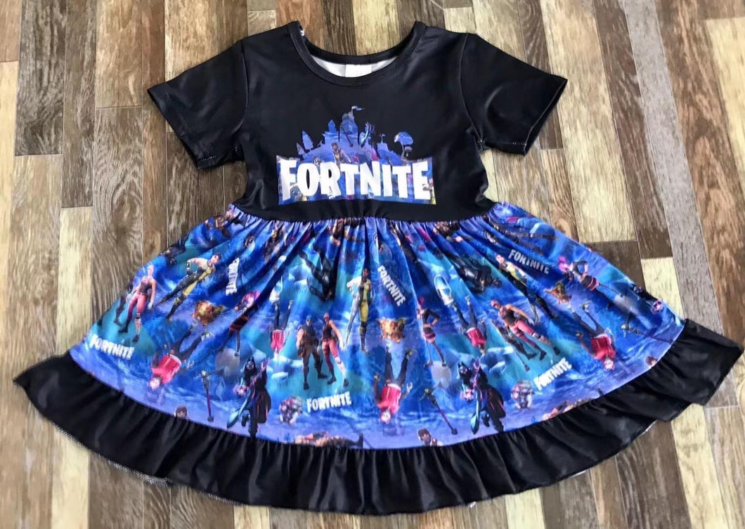 Black Fortnite Dress