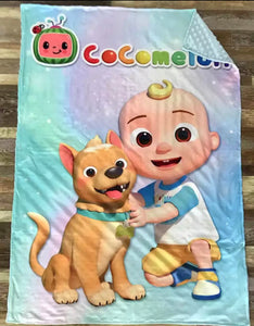 Cocomelon Blanket Style B