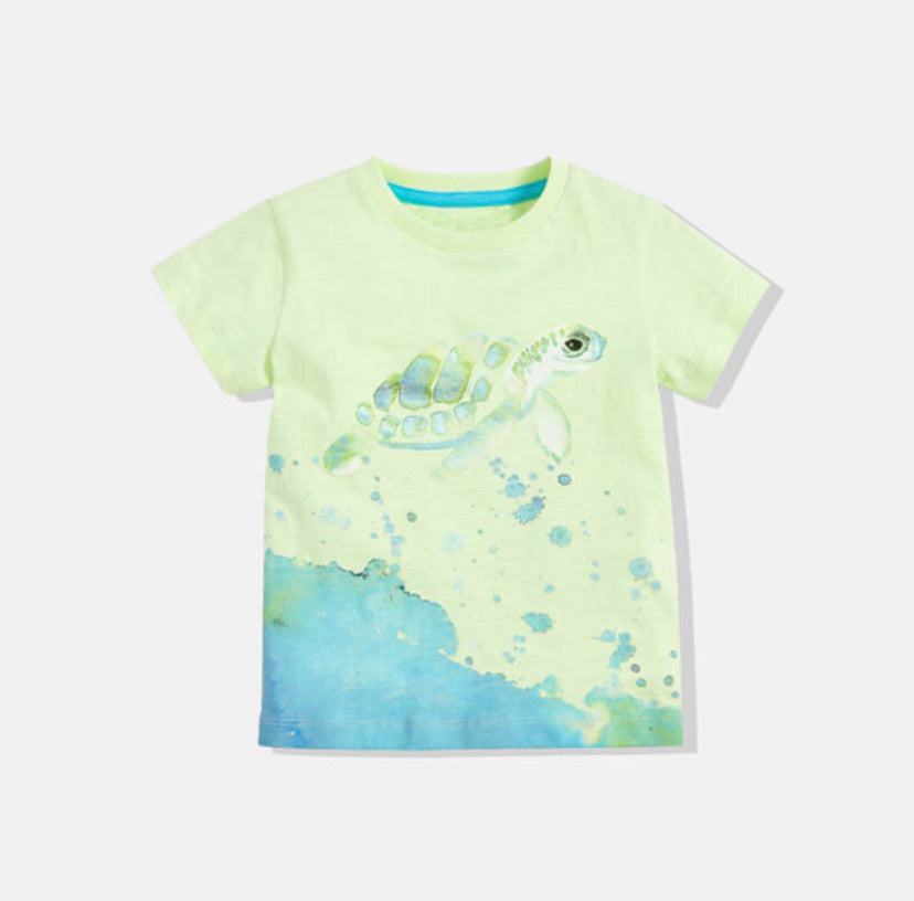 Cool Boys Turtle Shirt