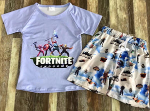 Fortnite Endgame Short Set