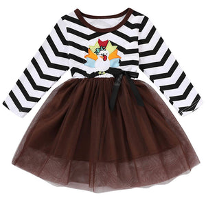 Jazzy Turkey Tutu Dress - RTS
