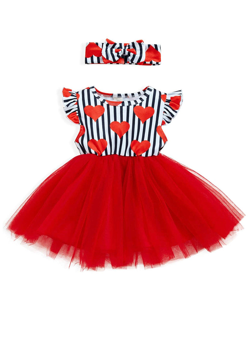 Heiress Valentine Tutu Dress - RTS