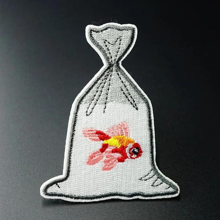 Embroidered Goldfish Patch