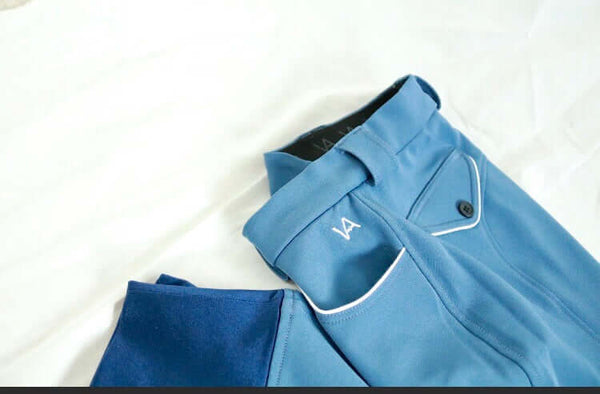 The Schooling Breech I, French Blue - Official Vision Apparel