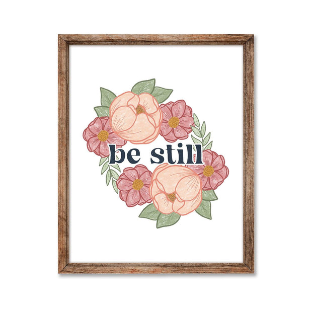 Be Still, Charity Print