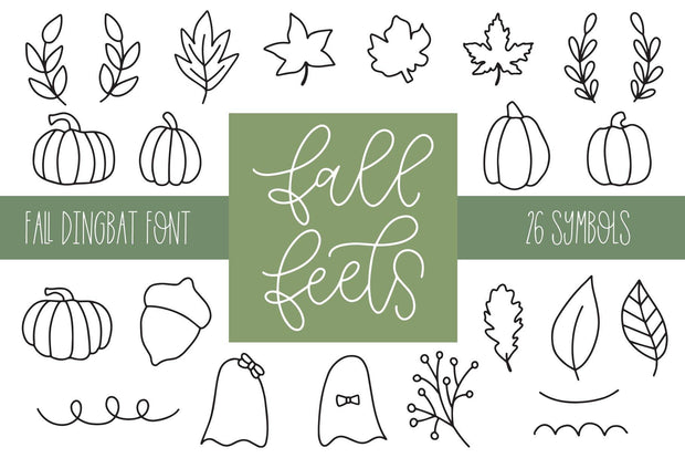 Fall Feels Font