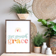 Give Yourself Grace Print
