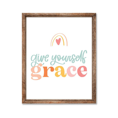 Give Yourself Grace Print - JordynAlisonDesigns