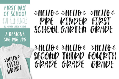 Cut File | Hello Grade Bundle