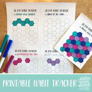 Hexagon Habit Tracker