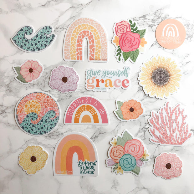 Floral Bundle 8 - JordynAlisonDesigns