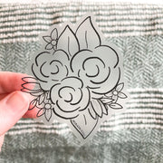 Floral Bundle 8 - CLEAR - JordynAlisonDesigns