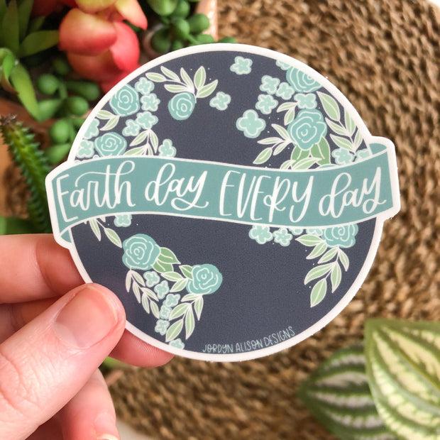 Earth Day Every Day, Charity Sticker