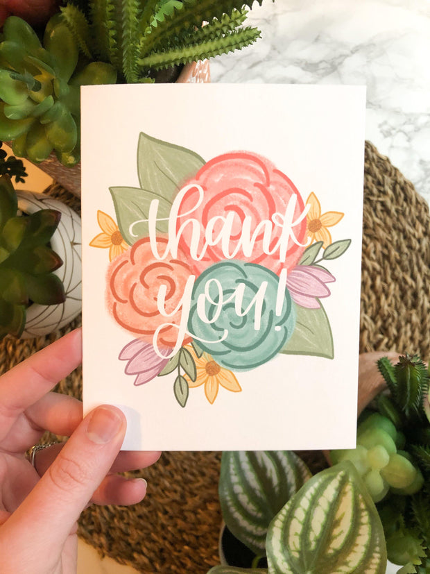 Thank You Spring Floral - JordynAlisonDesigns