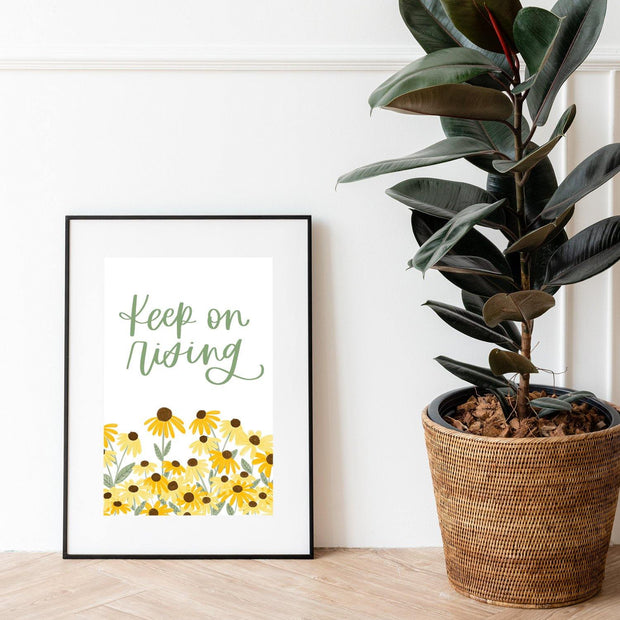 Keep on Rising, Charity Print