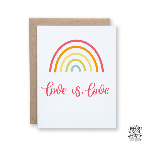 Love Is Love Rainbow