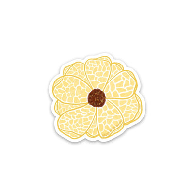 Mini Mosaic Flower - Yellow - JordynAlisonDesigns