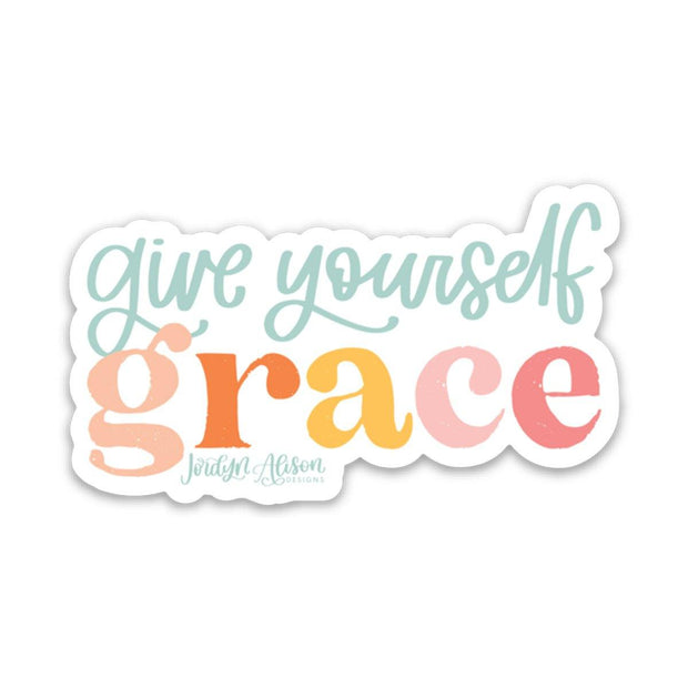Give Yourself Grace - JordynAlisonDesigns