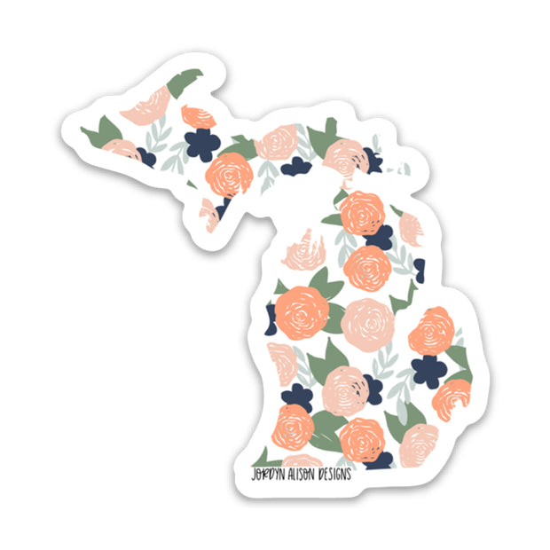Michigan Coral Floral