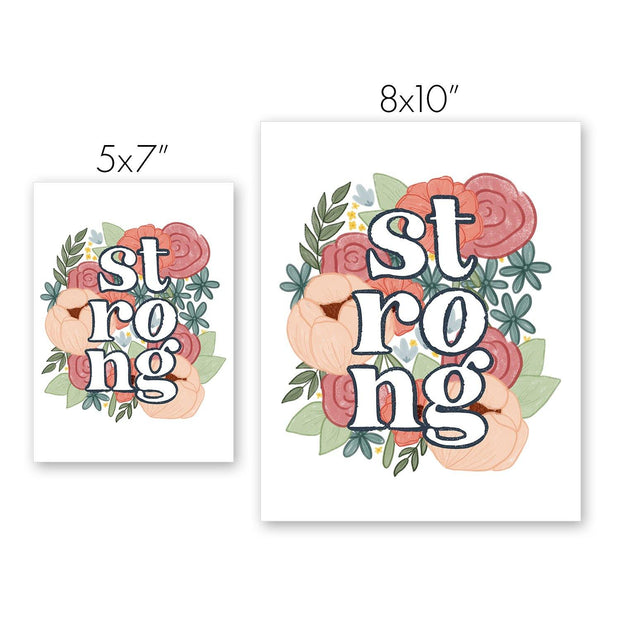 Strong, Charity Print