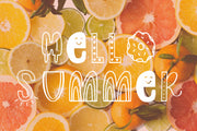 Slice of Summer Font