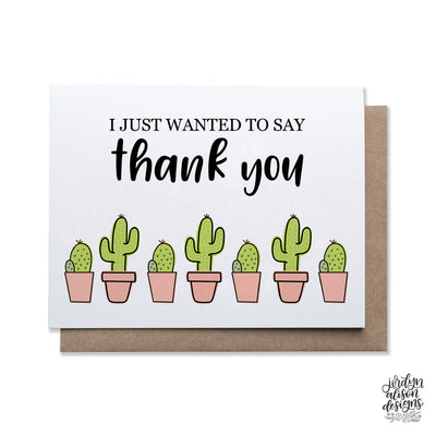 Thank You Cacti