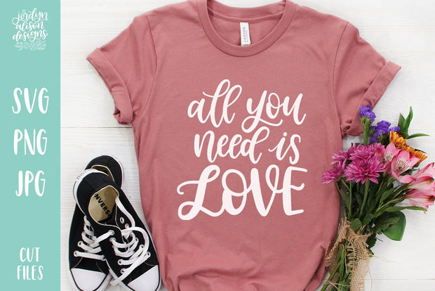 Cut File | All You Need Is Love