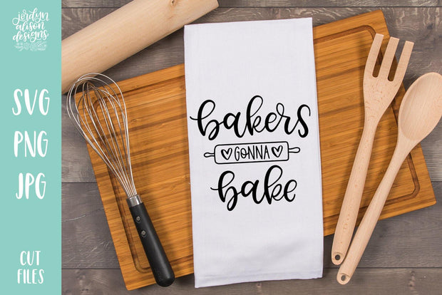 Cut File | Bakers Gonna Bake