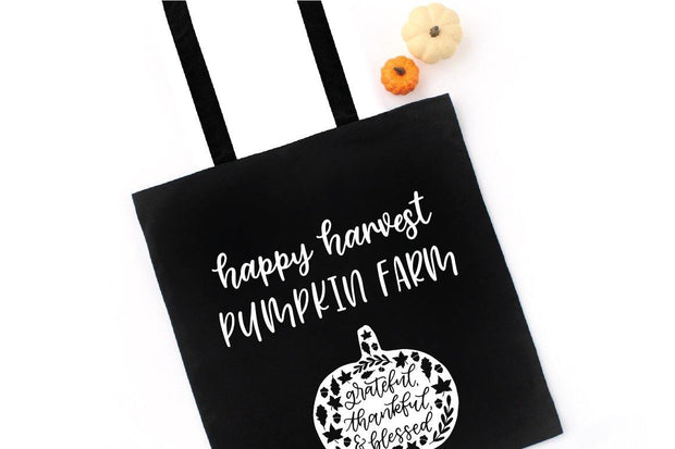 canvas bag with cinnamon sugar font