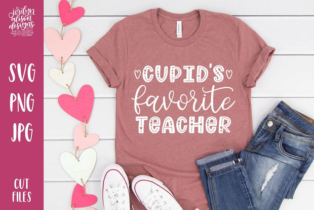 Cut File | Cupid's Favorite Teacher