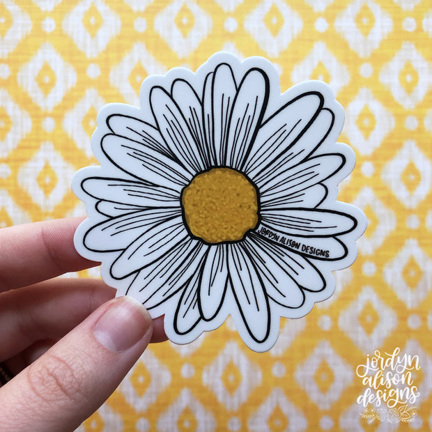 Daisy Sticker
