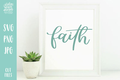 Cut File | Faith