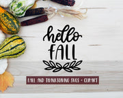 Cut File | Fall + Thanksgiving